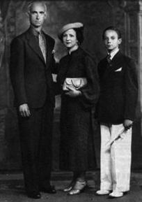 Astor and parents